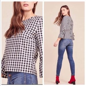 Jack by BB Dakota 'Seen It All' Gingham Top
